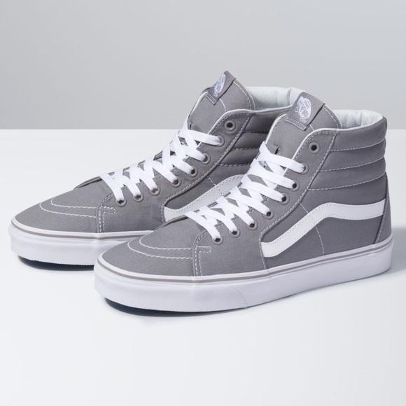 Vans Shoes | Gray Old Skool High Top